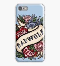BadWolf Tattoo iPhone Case/Skin