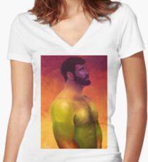 Argus Women's Fitted V-Neck T-Shirt
