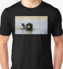 Dog Ball Water Unisex T-Shirt