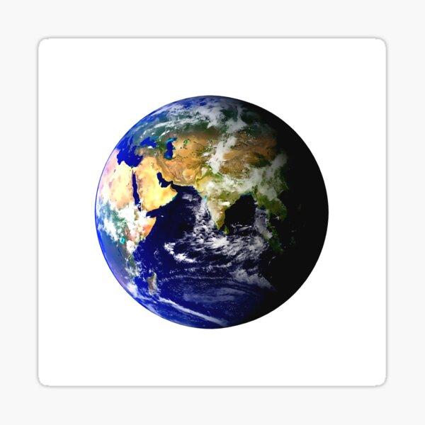Earth Globe Sticker
