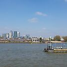 Canary Wharf from Greenwich by Steven Mace