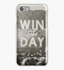 Win The Day iPhone Case/Skin
