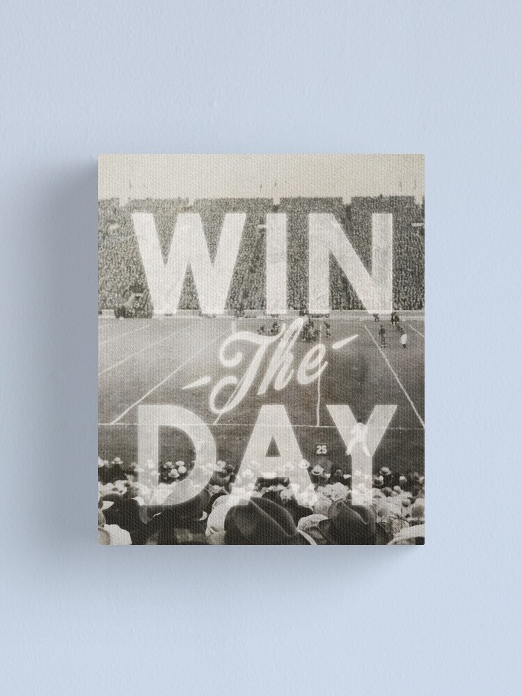 Alternate view of Win The Day Canvas Print