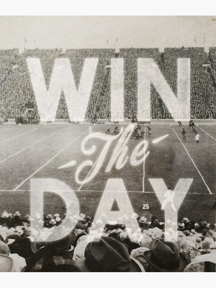 Win The Day by heatherlandis