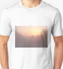 misty sunrise Unisex T-Shirt