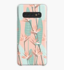 Bird of paradise - mint Case/Skin for Samsung Galaxy