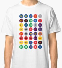 Legends of the NBA ~ 80s, 90s 00s, 10s Classic T-Shirt