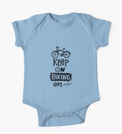 Keep On Riding On - Black  Kids Clothes