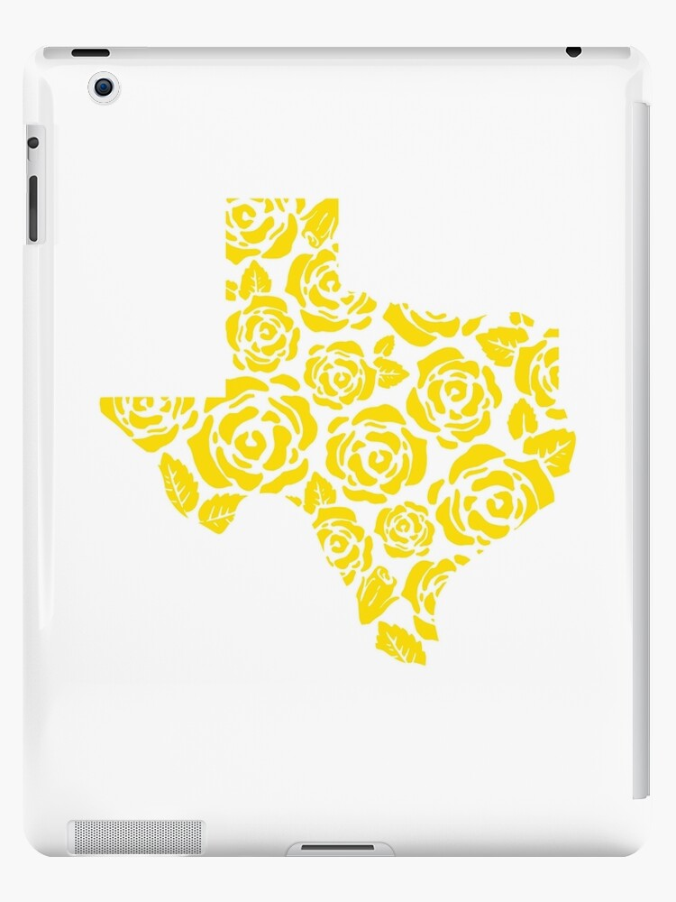 The Yellow Rose Of Texas Pattern Ipad Cases Skins By Texaslove