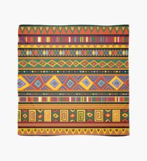 Ethnic Colorful Pattern Africa Art Scarf