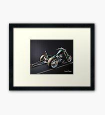 Dragster Trike Framed Print