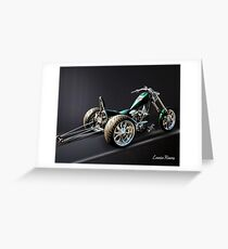 Dragster Trike Greeting Card