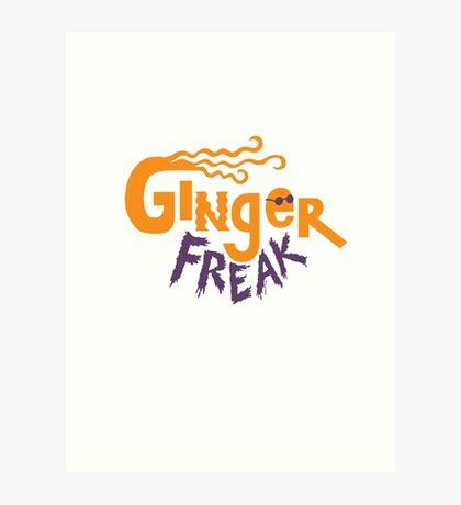 Ginger Freak Art Print