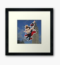 Moriarty (a) Framed Print