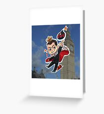 Moriarty (a) Greeting Card