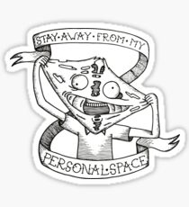 Rick and Morty / Personal Space Sticker