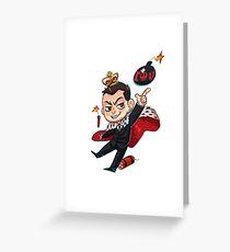 Moriarty (b) Greeting Card