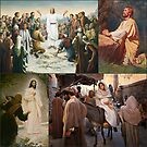 Scenes From The New Testament Collage by Kathryn Jones