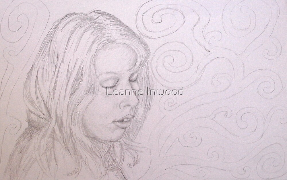 Bethany dreaming by Leanne Inwood