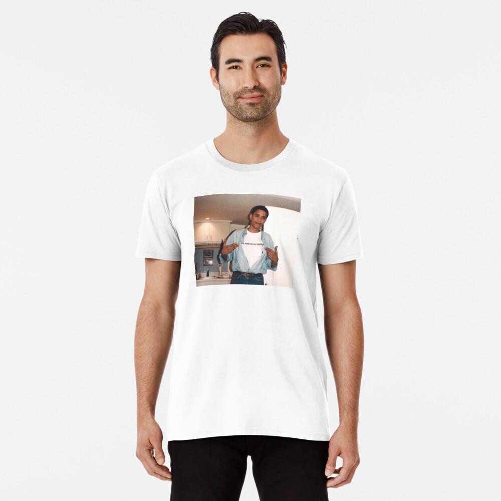 Der amerikanische Traum - Obama Print Premium T-Shirt