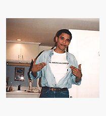 Lámina fotográfica El sueño americano - Obama Print