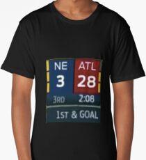 Falcons Lead 28-3 Long T-Shirt