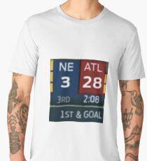 Falcons Lead 28-3 Men's Premium T-Shirt