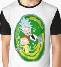 Rick and Morty Graphic T-Shirt