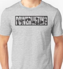 Powerlifting ICONIC - Squat, Bench Press, Deadlift Unisex T-Shirt