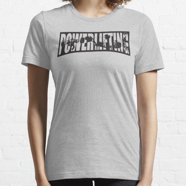 Powerlifting ICONIC - Squat, Bench Press, Deadlift Essential T-Shirt