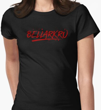Bellarkru (Red Text) T-Shirt
