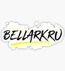 Bellarkru (White Text) Sticker