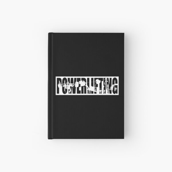 Powerlifting ICONIC - Squat, Bench Press, Deadlift Hardcover Journal