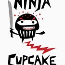 Ninja Cupcake - 2 by Andi Bird