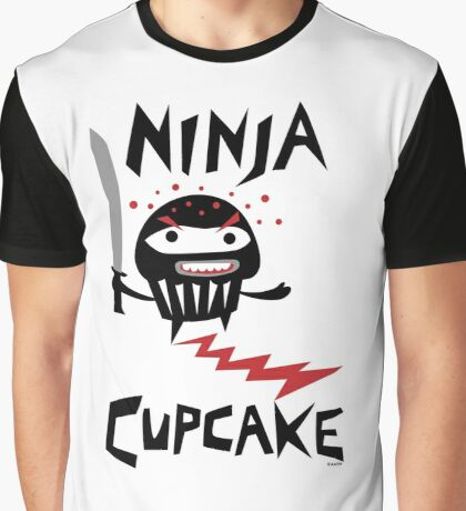 Ninja Cupcake - 2 Graphic T-Shirt