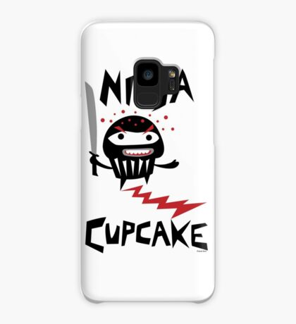 Ninja Cupcake - 2 Case/Skin for Samsung Galaxy