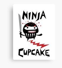 Ninja Cupcake - 2 Canvas Print