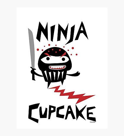 Ninja Cupcake - 2 Photographic Print