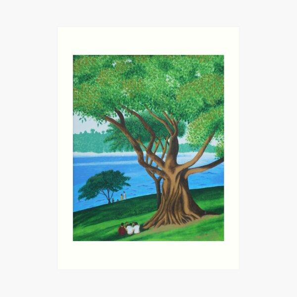 MORETON BAY FIG  (BOTANICAL GARDENS, SYDNEY) Art Print