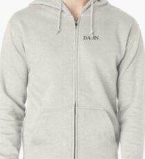 DAMN - Kendrick Lamar - Small Logo  Zipped Hoodie
