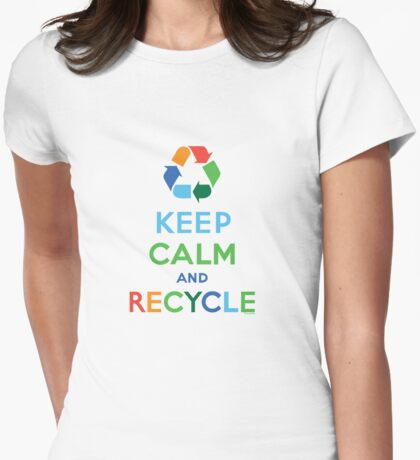 Keep Calm and Recycle - light T-Shirt