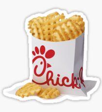 Chickfila fries Sticker