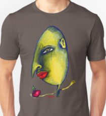 Man with Apple Unisex T-Shirt