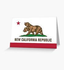 New California Greeting Card