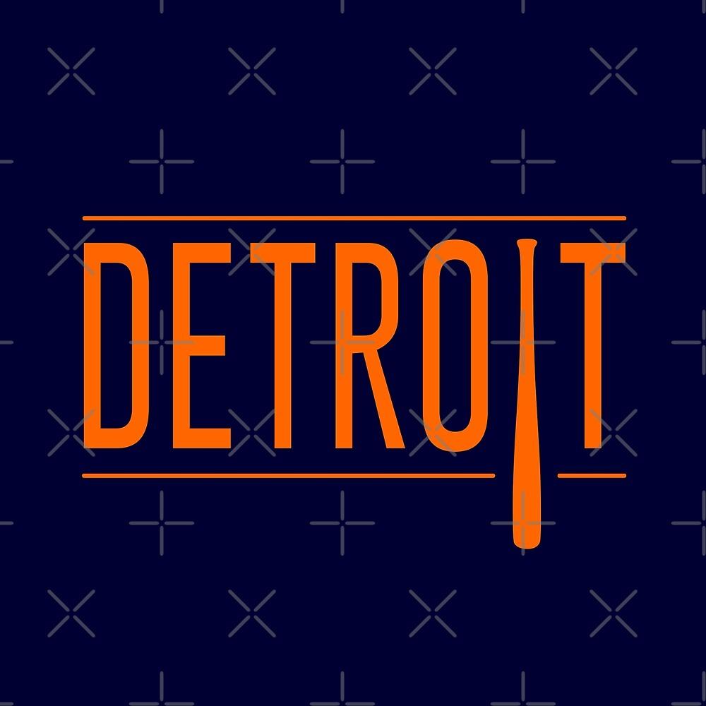Detroit Baseball by thedline