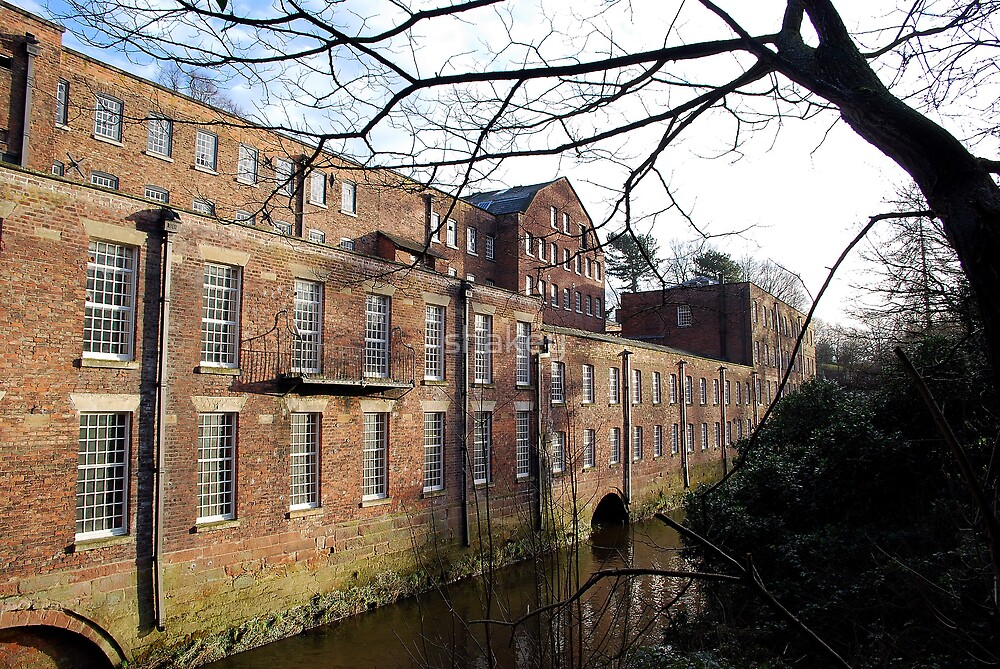 Quarry Bank Mill by shakey