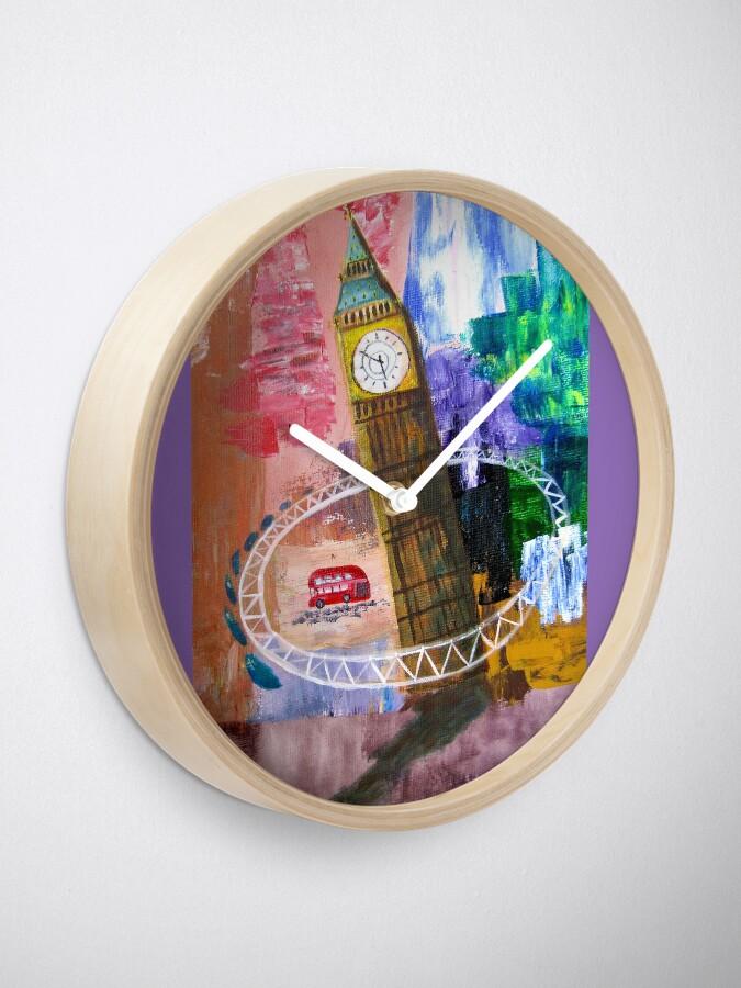 Alternate view of London  Clock