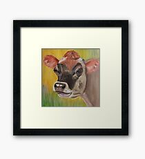 Blossom - the House Cow Framed Print