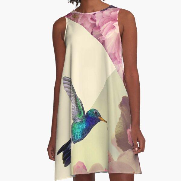 Hummingbird in love A-Line Dress