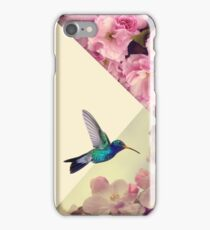 Hummingbird in love iPhone Case/Skin